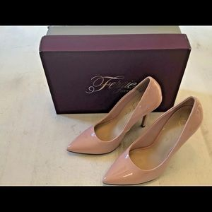 Fergie Alexi Closed Toe Classic Pumps, Pink, 7.5